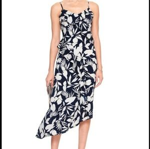 Banana Republic Floral Asymmetrical Dress 4